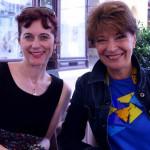 Cest is D' Best 2014 - Diana Sokolić with Dijana Nazor, organizer and founder of the festival