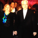 Minister of culture Andrea Zlatar Violić and president Ivo Josipović – 22. 7. 2013.