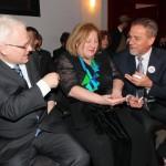 President Ivo Josipović, minister of culture Andrea Zlatar Violić and mayor Milan Bandić – Kerempuh – 25.3.2014.