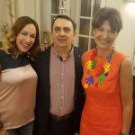Ivy Koerbler, Romano Bolković i Diana Sokolić