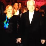 Ministrica kulture Andrea Zlatar Violić i predsjednik Ivo Josipović – 22. 7. 2013.