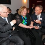 Predsjednik Ivo Josipović, ministrica kulture Andrea Zlatar Violić i gradonačelnik Milan Bandić – Kerempuh – 25.3.2014.